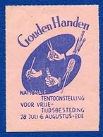 CINDERELLA : NETHERLANDS : GOUDEN HANDEN - NATIONALE TENTOONSTELLING - Cinderellas