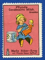 CINDERELLA : ALLEMAGNE - DRESDEN - PFUNDS CONDENSIRTE MILCH - Cinderellas