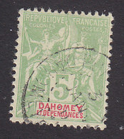 Dahomey, Scott #4, Used, Navigation And Commerce, Issued 1899 - Dahomey (1899-1944)