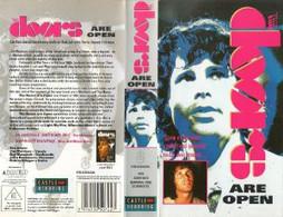 The Doors – The Doors In Europe & The Doors Are Open  - VHS - Concert & Music