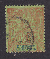 Dahomey, Scott #7, Used, Navigation And Commerce, Issued 1899 - Dahomey (1899-1944)