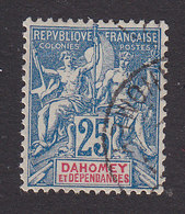 Dahomey, Scott #9, Used, Navigation And Commerce, Issued 1899 - Dahomey (1899-1944)