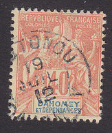 Dahomey, Scott #11, Used, Navigation And Commerce, Issued 1899 - Dahomey (1899-1944)
