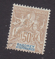 Dahomey, Scott #12A, Used, Navigation And Commerce, Issued 1899 - Dahomey (1899-1944)