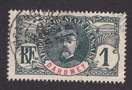 Dahomey, Scott #17, Used, Gen Louis Faidherbe, Issued 1906 - Dahomey (1899-1944)