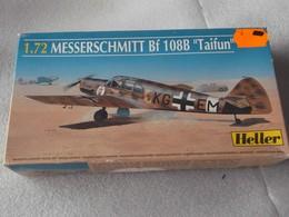 """Maquette Avion 1/72 Heller - Messerschmitt Bf 108B """"Taifun"""" 1935 Luftwaffe - Avions"""