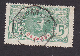 Dahomey, Scott #20, Used, Gen Louis Faidherbe, Issued 1906 - Dahomey (1899-1944)