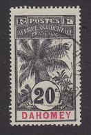 Dahomey, Scott #22, Used, Oil Palm, Issued 1906 - Dahomey (1899-1944)