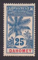 Dahomey, Scott #23, Mint Hinged, Oil Palm, Issued 1906 - Dahomey (1899-1944)