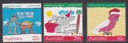Australia ASC 1178-1180 1988 Christmas, Mint Never Hinged - 1980-89 Elizabeth II
