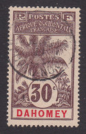 Dahomey, Scott #24, Used, Oil Palm, Issued 1906 - Dahomey (1899-1944)
