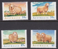 Australia ASC 1189-1192 1989 Sheep, Mint Never Hinged - 1980-89 Elizabeth II