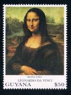 """Guyana 1993 Da Vinci World Famous Painting """"Mona Lisa"""" 1 - Guyana (1966-...)"""