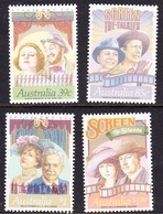 Australia ASC 1200-1203 1989 Stage And Screen, Mint Never Hinged - 1980-89 Elizabeth II