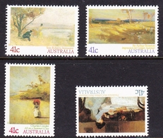 Australia ASC 1204-1207 1987 Impressionists, Mint Never Hinged - 1980-89 Elizabeth II