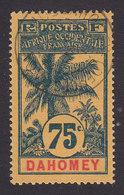 Dahomey, Scott #28, Used, Oil Palm, Issued 1906 - Dahomey (1899-1944)