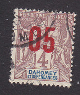 Dahomey, Scott #33, Used, Navigation And Commerce Surcharged, Issued 1912 - Dahomey (1899-1944)