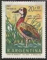 LSJP ARGENTINA FAUNA BIRD 1968 MNH - Unused Stamps