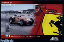 Argentina 2009 Italia 2009, Ferrari S/s, (Mint NH), Transport - Automobiles - Ferrari - Sport - Autosports - Argentina