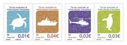 TAAF 2016 Mih. 928/31 Definitive Issue. Turtle. Ship. Helicopter. Penguin MNH ** - Französische Süd- Und Antarktisgebiete (TAAF)