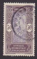 Dahomey, Scott #56, Used, Man Climbing Oil Palm, Issued 1913 - Dahomey (1899-1944)