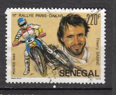 ##27, Sénégal, Moto, Motocyclette, Motorcycle, Paris Dakar, Thierry Sabine - Senegal (1960-...)