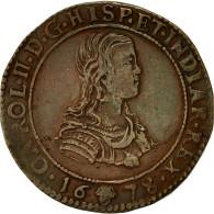 Belgique, Jeton, Flandres, Charles II D'Espagne, Bureau Des Finances, 1678 - Belgique