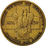 Belgique, Médaille, Croix Rouge, Service Du Sang, 1985, SUP+, Bronze - Autres