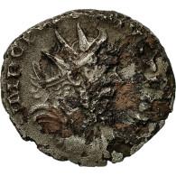 Monnaie, Postume, Antoninien, 266, Trèves Ou Cologne, TB+, Billon, RIC:303 - 5. L'Anarchie Militaire (235 à 284)