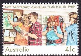 Australia ASC 1216 1989 Youth Hostels 50th Anniversary, Mint Never Hinged - 1980-89 Elizabeth II