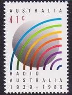 Australia ASC 1222 1989 Radio Australia 50th Anniversary, Mint Never Hinged - 1980-89 Elizabeth II