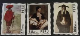 Peru  - MH* - 1973 - # C367/369 - Peru
