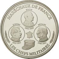France, Médaille, Première Guerre Mondiale, Les Chefs Militaires, FDC - France