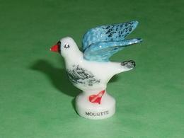 Fèves / Animaux / Oiseaux :  La Mouette     TB110E - Animals