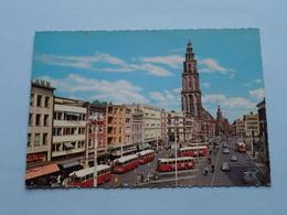 Grote Markt N. Z. Met MARTINITOREN ( Muva ) Anno 1942 ( Voir Photo ) ! - Groningen