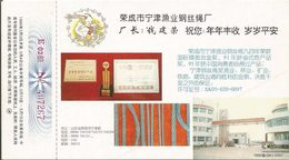 LSJP CHINA POSTCARDS STEEL CABLE MOUSE 1996 - 1949 - ... People's Republic