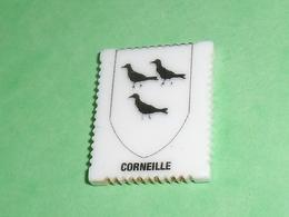 Fèves / Animaux / Oiseaux : Timbre , Corneille      TB110E - Animals