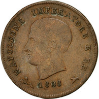 Monnaie, États Italiens, KINGDOM OF NAPOLEON, Napoleon I, 3 Centesimi, 1808 - Temporary Coins