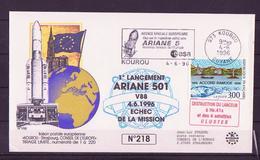 ESPACE - ARIANE Vol Du 1996/06 V88 - Conseil De L'Europe - 1 Document - Europe