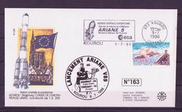 ESPACE - ARIANE Vol Du 1996/07 V89 - Conseil De L'Europe - 1 Document - Europe