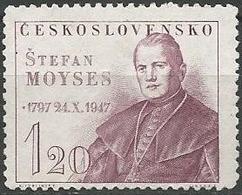 LSJP CZECHOSLOVAKIA 150 YEARS BIRTH STEFAN MOYSES 1947 - Czechoslovakia