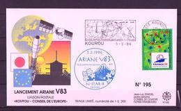 ESPACE - ARIANE Vol Du 1996/02 V83 - Conseil De L'Europe - 1 Document - Europe