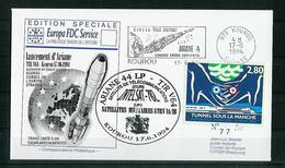 ESPACE - ARIANE Vol Du 1994/06 V64 - Conseil De L'Europe - 1 Document - Europe