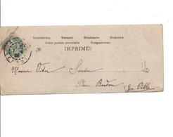 BLANC SUR CARTE DE AGDE HERAULT DU 7/4/1906 - Postmark Collection (Covers)