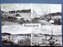 29 ,audierne ,le Port ,vues Diverses En 1957....  .circulée  Timbrée....cpsm....gf - Audierne