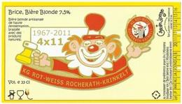 Etiket België 409 - Beer