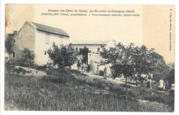 30 Saint Julien De Cassagnas, Domaine Des Côtes De Cassac, Chevalier Frères Propriétaires (A2p37) - France