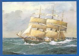 Schiffe; Rickmer Richmers; Gemälde Von R. Chapelet - Paquebote