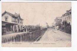 FOUGERES - LA GARE DU TRAMWAY - 35 - Fougeres