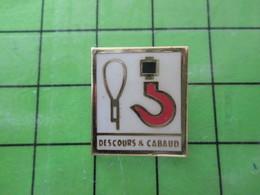 313i / PINS PIN'S Rare Et De Belle Qualité : THEME MARQUES / DESCOURS & CABAUD CROCHET DE GRUE - Trademarks
